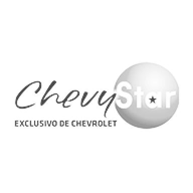 Logo Chevy Star (escala de grises)