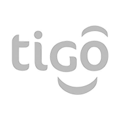 Logo Tigo (escala de grises)